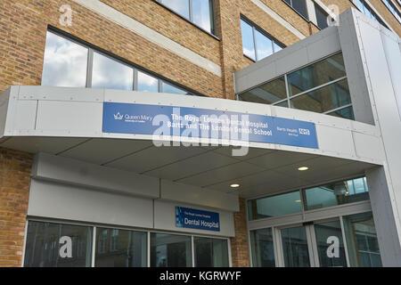 royal london dental hospital - Stock Image