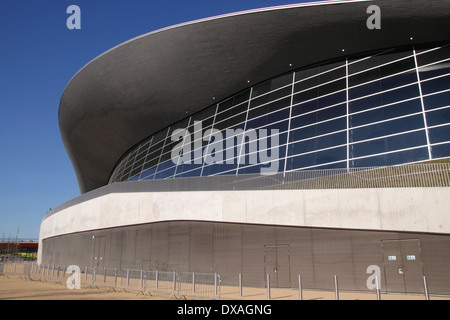 Aquatics Centre at the Olympic Park Stratford London - Stock Image