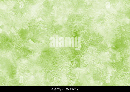 Marble color green abstract or grunge watercolor paint texture background - Stock Image