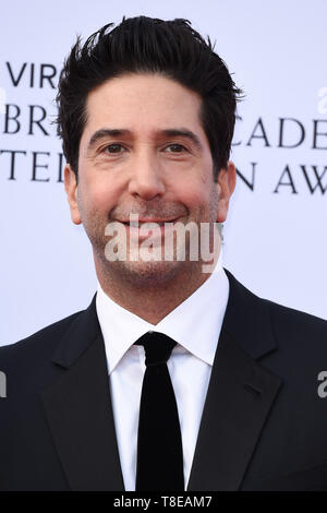 LONDON, UK. May 12, 2019: David Schwimmer arriving for the BAFTA TV Awards 2019 at the Royal Festival Hall, London. Picture: Steve Vas/Featureflash - Stock Image