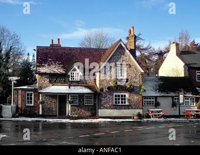 The Plough Public House, Belsize, Hertfordshire - Stock Image