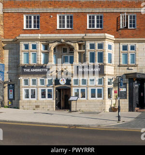 The Ambrette,Indian Restaurant,Cuisine,The Parade,Margate,Thanet,Kent,England - Stock Image
