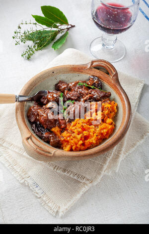 Spiced beef stew - Stock Image