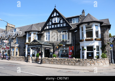 McKay's Restaurant, Atholl Road on the A924, Pitlochry, Perthshire - Stock Image