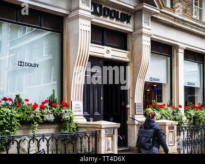 Dolby Europe Limited London Offices in Soho Square, Soho, London - Stock Image