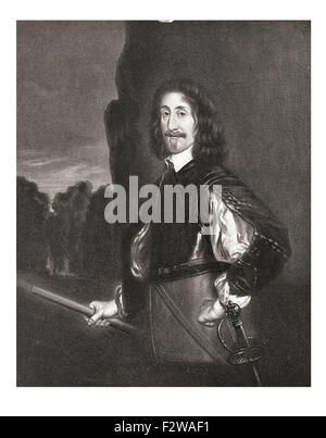 Edward Montagu, 2nd Earl of Manchester commander of Parliamentary forces in the First English Civil War Cromwell's - Stock Image
