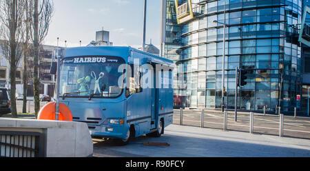 The Hairbus, Belfast - Stock Image