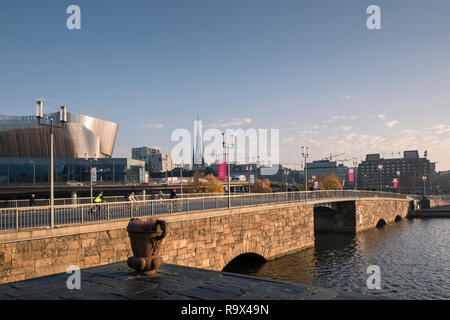 Stockholm cityscape waterfront view, Stockholm, Sweden. - Stock Image