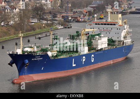LPG Tanker Almajedah - Stock Image
