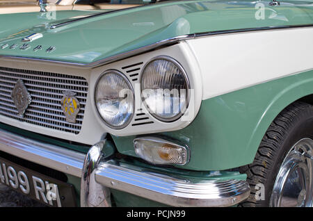 Triumph Vitesse British Classic car UK - Stock Image