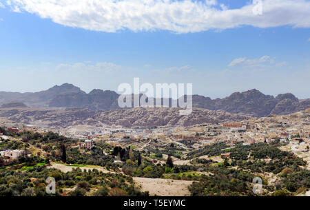 Desert landscapes in Jordan. - Stock Image