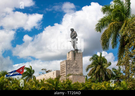 Che Guevara's Monument and Mausoleum.Santa Clara was the site in late 1958 of the last battle in the Cuban Revolution. - Stock Image