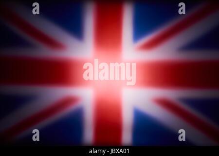 UnionJack Flag of Great Britain - Stock Image