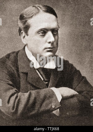 Archibald Philip Primrose, 5th Earl of Rosebery, 1st Earl of Midlothian, 1847 – 1929. British Liberal politician and Prime Minister of the United Kingdom. From The Pageant of the Century, published 1934. - Stock Image