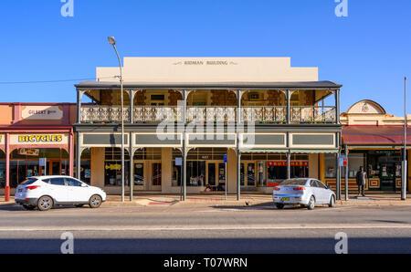The Kidman Building (1888), Argent Street, Broken Hill, New South Wales, Australia - Stock Image