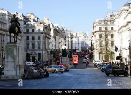 Waterloo Place looking towards Regent Street London January 2007 - Stock Image