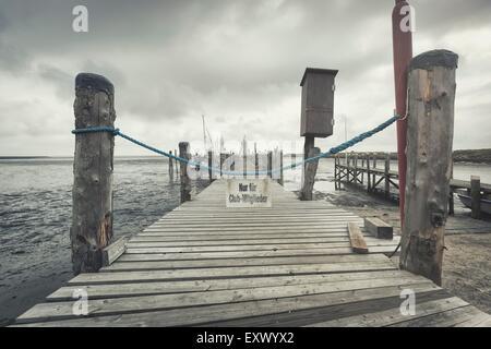 Harbour, Rantum, Sylt, Schleswig-Holstein, Germany, Europe - Stock Image