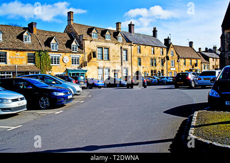 Stow on the Wold, Cotswolds, Gloucestershire, England - Stock Image