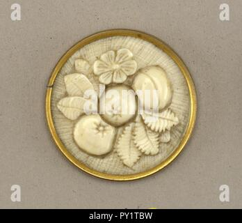 Button, 19th century - Stock Image