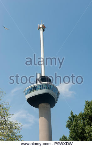 Rotterdam The Netherlands Euromast observation tower. - Stock Image