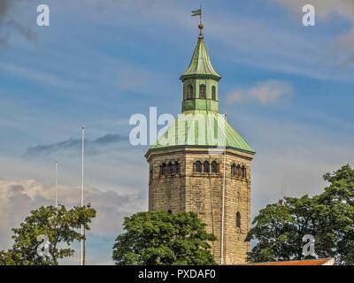 The Valberg Tower, Stavanger Norway - Stock Image