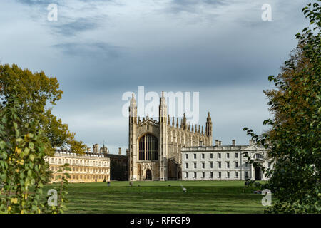 King's college chapel in Cambridge (England) - Stock Image