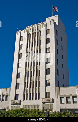 Historic Pacific Building Hollywood Los Angeles CA California United States USA - Stock Image
