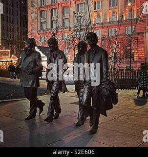 The Beatles, Liverpool - Stock Image