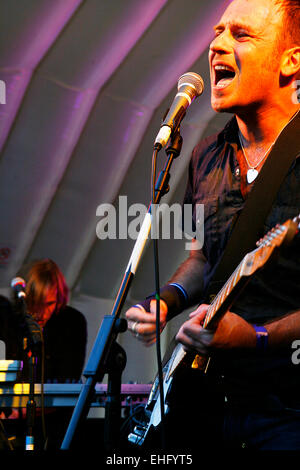 Boy Kill Boy live at Underage Festival in Victoria Park London. - Stock Image