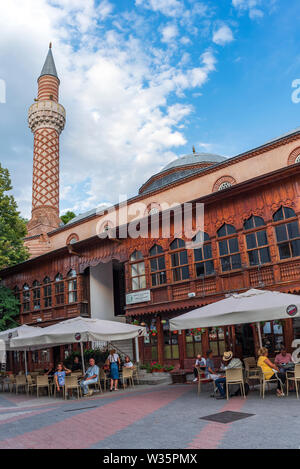 Dzhumaya Mosque at the center of in city of Plovdiv, Bulgaria - Stock Image