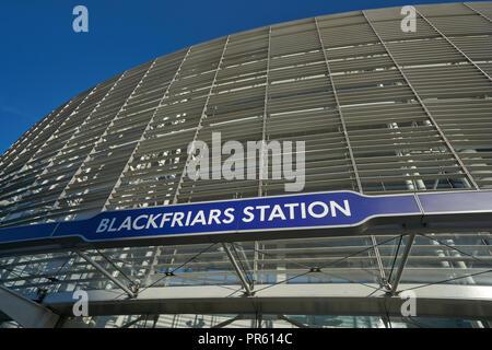 blackfriars station - Stock Image