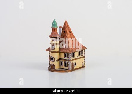 Decorative candle house - Stock Image