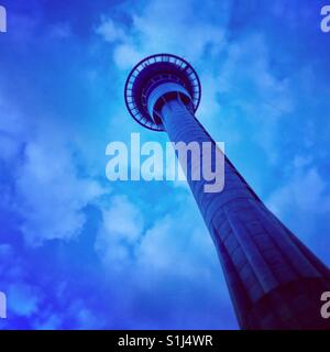 Auckland skytower - Stock Image