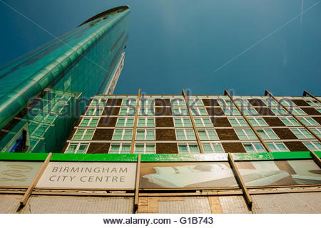 Birmingham, England, UK. 12th May 2016. UK Weather, Sunshine in Birmingham, 10 Holloway Circus (also referred to - Stock Image
