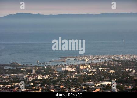 Santa Barbara and Channel Islands, California, CA - Stock Image