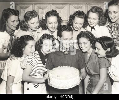 A birthday wish come true - Stock Image