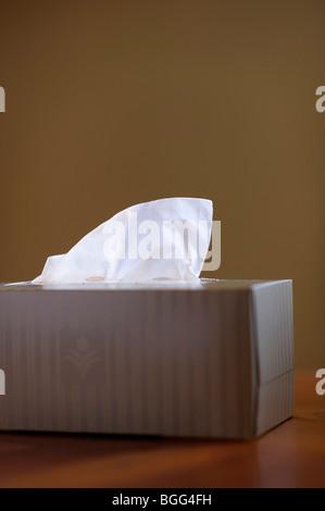 Box of tissues - Stock Image