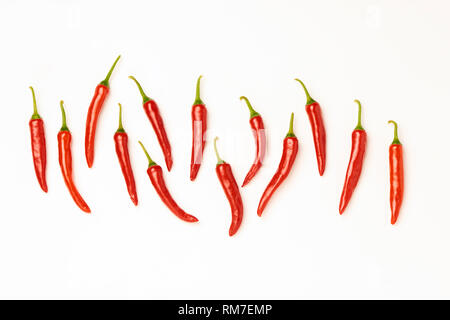 Red Hot Chillies Peppers - Stock Image