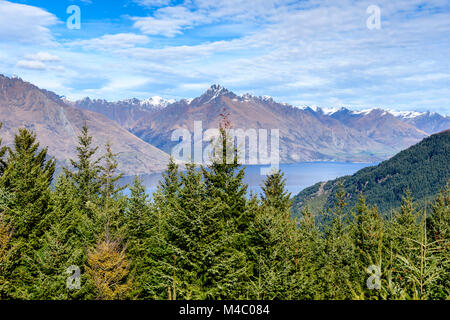 View of The Remarkables - Stock Image