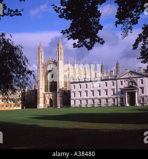 Kings College Cambridge UK - Stock Image