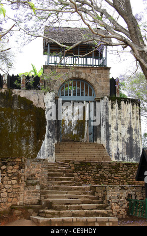 An Entrance Gate to the Queen's Palace, Antananarivo, Madagascar. - Stock Image