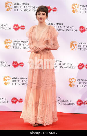 LONDON, UK. May 12, 2019: Elise Chappell arriving for the BAFTA TV Awards 2019 at the Royal Festival Hall, London. Picture: Steve Vas/Featureflash - Stock Image