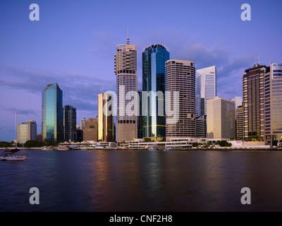 Brisbane Central Business District Queensland Australia - Stock Image