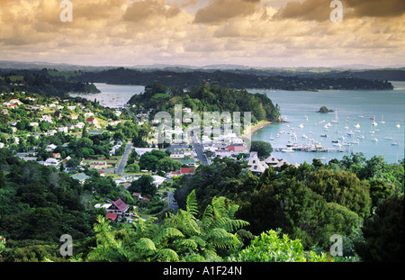 New Zealand Bay of Islands Russel - Stock Image