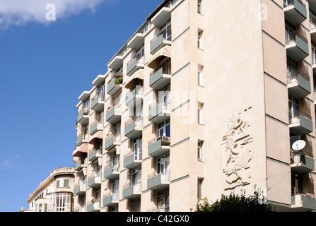 Wohnhaus im Stadtzentrum von Palma, Mallorca, Spanien. - Residential house in downtown Palma, Majorca, Spain. - Stock Image