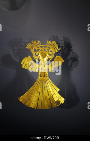 Gold Museum (Museo del Oro), Bogotá, Colombia - Stock Image