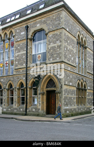 The Guild Hall, High Street, Winchester, Hampshire, UK - Stock Image