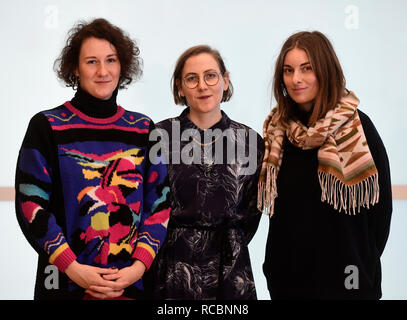 Six finalists, including some foreign names, will compete for the 30th Czech Jindrich Chalupecky Award for young visual artists with the winner to be announced in late November or early December, the organisers said at a press conference today, on Tuesday, January 15, 2019. Among the finalists are Andreas Gajdosik, who uses social networks to create artistic objects, Baptiste Charneux, a Frenchman living in Prague who works with ceramics, filmmaker Marie Lukacova, painter Pavla Malinova, Alma Lily Rayner, Israeli-born activist who focuses on the topic of sexual violence, and the Comunite Fresc - Stock Image