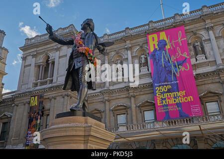 The Royal academy London - Stock Image