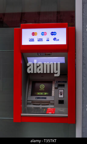 A general ATM in Seville. Spain - Stock Image